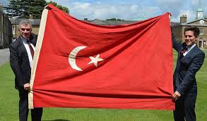 Ottoman Flags Ottoman Flag Returned To Turkey After 100 Years In Uk