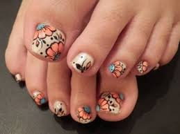 attractive nail art designs for your toes nail design ideaz