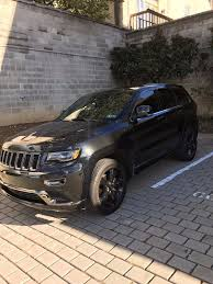 jeep cherokee black 2015 great 2015 jeep grand cherokee overland uper clean triple black