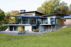 house design in uk a steel frame and stone home homebuilding renovating