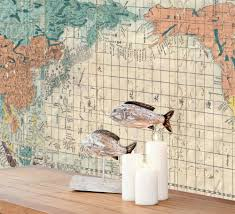 asian world map mural walls republic m9165 rm01