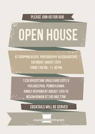 open house invitations open house invitation search typography