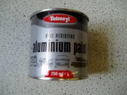 buy tetrosyl heat resistant aluminium paint at car spot