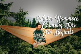 winter hammock camping tips for beginners mad outdoorist