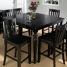Kitchen  Kitchen Table Chairs Pub Style Table High Dining Table Set