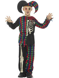 clown costume skeleton clown costume costumes from play and party uk