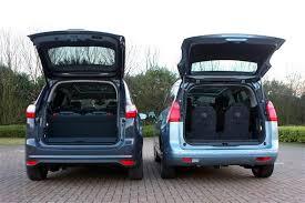peugeot 5008 dimensions peugeot 5008 takes on sliding doors parkers