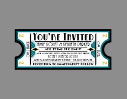wedding invitation vintage antique art deco art nouveau