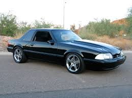 All Black Mustang Notchback Fox Body Mustang 5 0 Ford Pinterest Fox Body