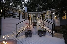 Deck To Patio Transition Corvallis Decks Patios Porches Sunrooms General Contractors