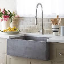 Black Kitchen Sink Faucets Kitchen Awesome Black Farm Sink Single Bowl Farmhouse Sink