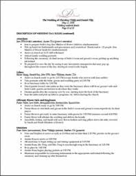 Wedding Itinerary Template For Guests Mrs Daffodil U0027s Wedding Weekend Organizational Packet Template