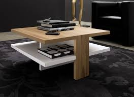 Wooden Material Element Modern Wood Coffee Table