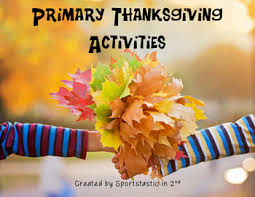 primary thanksgiving activities by miss teachnology tpt