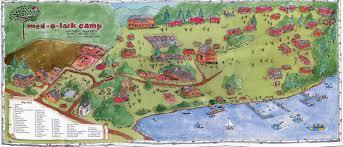 I 35 Map Camp Med O Lark Map Arts Summer Camp Of New England