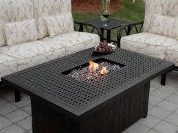 coffee tables splendid steel propane patio fire pit table coffee