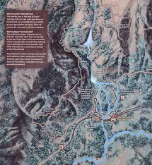 Map Of Yosemite Yosemite Falls Trail
