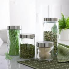 glass kitchen canisters with ornate lids pretty glass kitchen