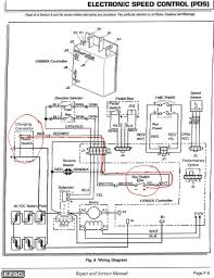 club car electric golf cart wiring diagram in club car precedent