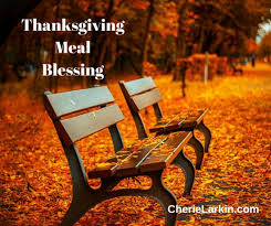 thanksgiving meal blessings and prayers cherie larkin