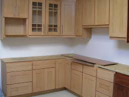 kitchen cupboard natural brown maple wood door kitchen