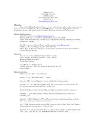How To Write A Perfect Resume Fashion Resume Objective Examples Write A Perfect Resume What You