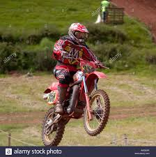motocross bike race a rider on a scramble dirt bike in a race taken in south devon