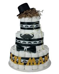 diaper cakes baby shower