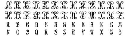 Create Monogram Initials Circle Monogram Initial Earrings Rose Gold