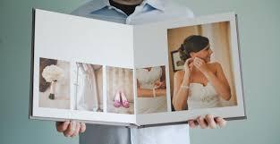 flush mount albums linen wedding album emily aaron s flush mount book