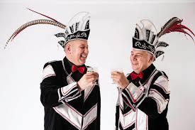 carnaval prins cv de narre kappen prins teskavo en adjudant cafika