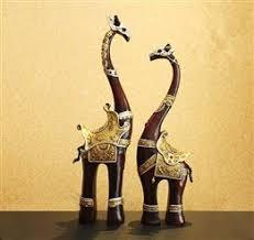armor giraffe ornaments wedding gift wedding home