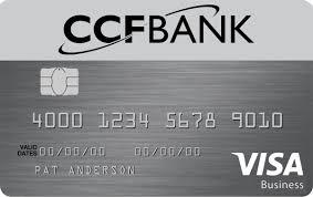 Visa Business Card Business Credit Cards Ccfbank Eau Claire Wi St Paul Mn