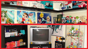 tour of my nintendo gaming bedroom 2015 youtube