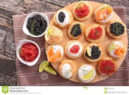 food canapes canapes finger food stock photo image of luxury 45430376