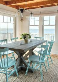 hgtv dining room ideas 27 terrific coastal dining room with beachy blue dining chairs
