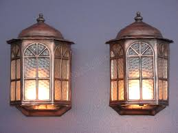copper vintage porch lights antique porch lighting fixtures home