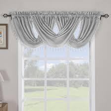 soho waterfall decorative trim window valance single