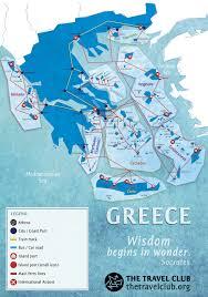 Aegean Sea Map Greek Islands Travel Guide