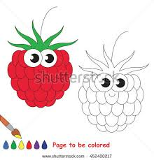funny grapes colored coloring book stock vector 433731316