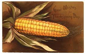 vintage thanksgiving clip turkey and corn the graphics