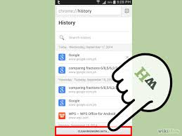 delete search history android aspiredsteps learn and earn with friends how to delete history