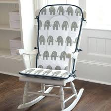 Nursery Wooden Rocking Chair Wood Rocking Chair Pads Then I Turned The Chair Around And Marked