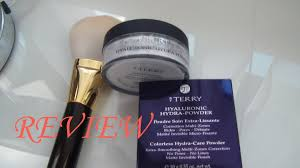 by terry hyaluronic hydra powder review youtube