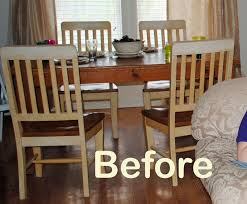 Runs With Scraps Refinish An Old Knotty Pine Dining Table The - Refinish dining room table