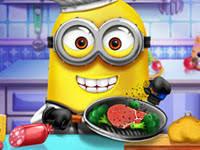 jeu de cuisine avec jeu cuisine avec un minion jeu flash en ligne zebest 3000