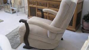 Upholstered Rocking Chair With Ottoman Upholstered Rocking Chair With Ottoman Interior Csogospel