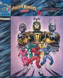 Turbo Power Rangers 2 - power rangers turbo vs beetleborgs metallix volume comic vine