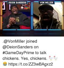 Von Miller Memes - deion sanders von miller live good 00d joined on gamedayprime to