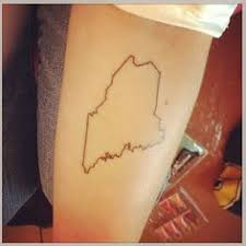my first tattoo of my home state i u0027m in love inked pinterest